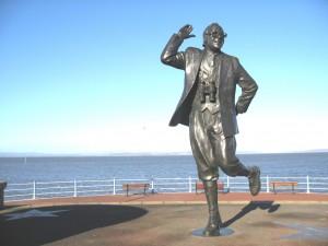 Eric Morecambe statue, Morecambe (RKW)