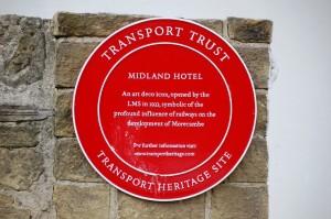 Midland Hotel plaque detail (SC)