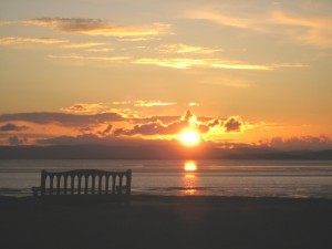 Sunset, Morecambe Bay (RKW)