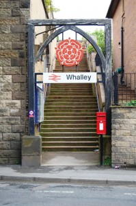 Whalley - Mitton Road entrance