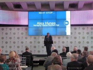 Alex Hynes lends his support to the project