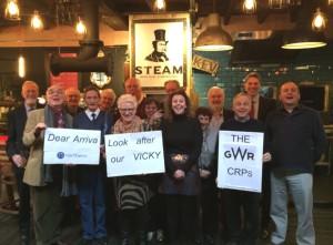 GWR CRPs & Vicky