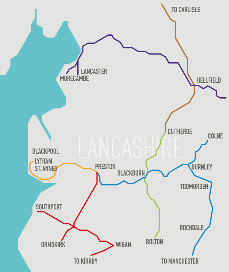 The 7 Lines of Lancashire