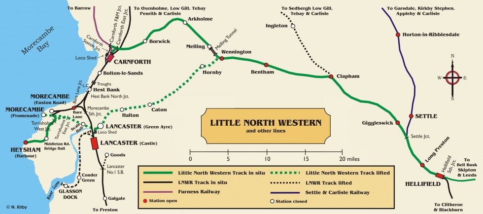 The Bentham Line Leeds to Lancaster and Morecambe Community Rail